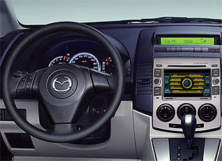 Navigation Systems Radio Double Din Mazda 5