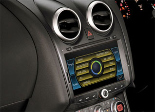 nissan qashqai navigation system. Black Bedroom Furniture Sets. Home Design Ideas